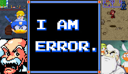 "I Am Error #2 – ""The Blue Bomber's Bombs"""
