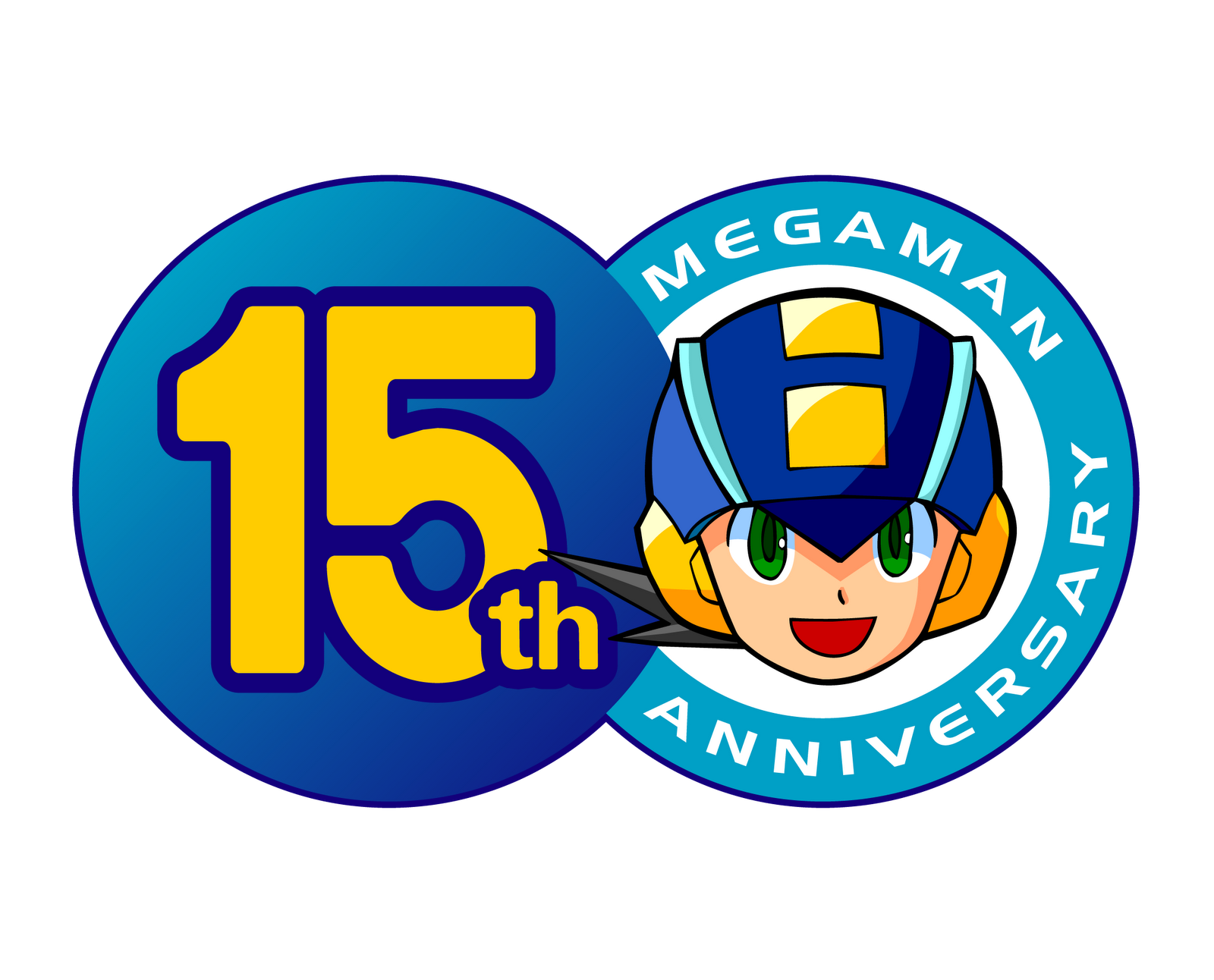 check out capcom s newest mega man t shirt  then enter for 25th Wedding Anniversary Clip Art 25th Anniversary Seal