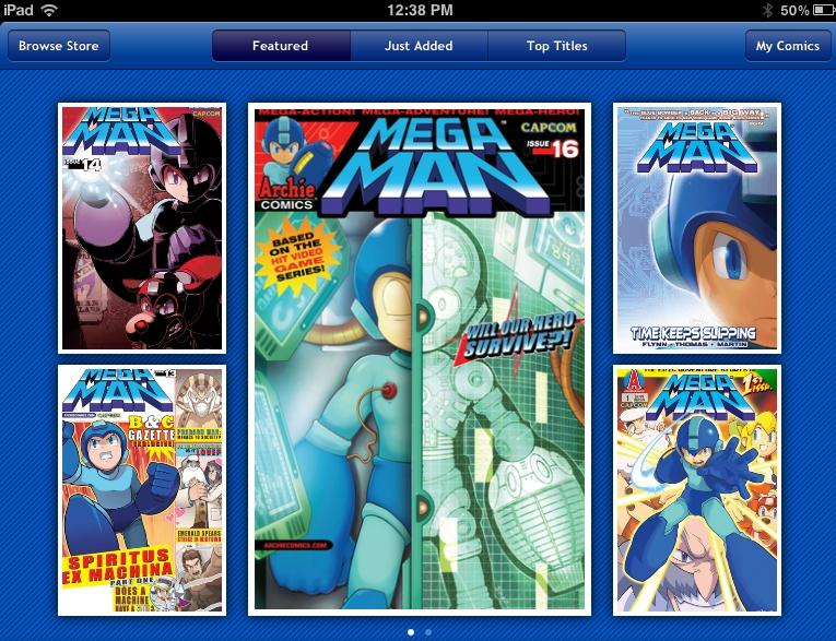 Download Mega Man Comics App, Get Mega Man #1 for Free — The
