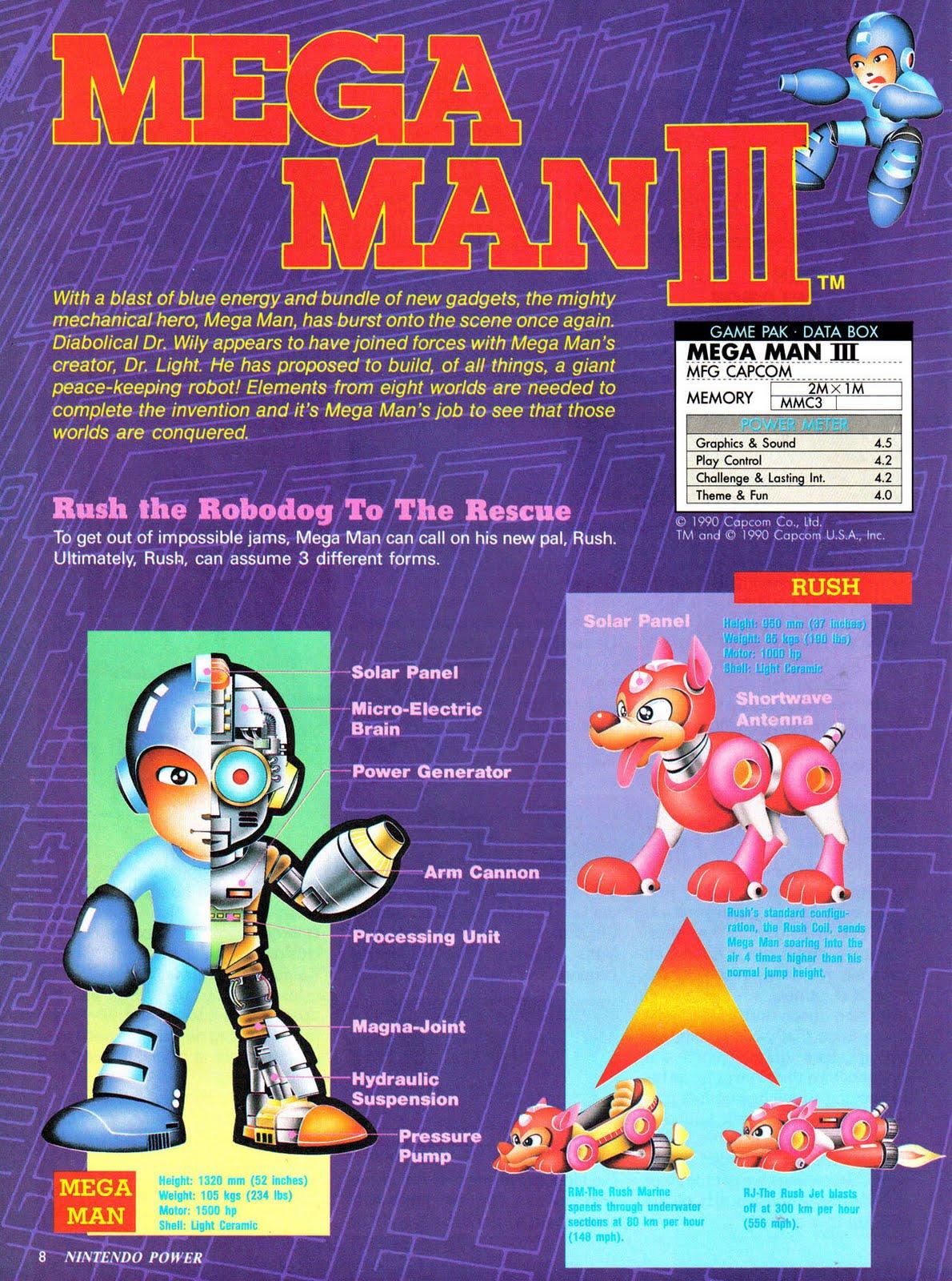 Looking Back Nintendo Power Covers Mega Man The Mega