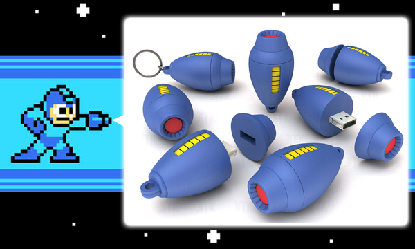 Mega Man USB
