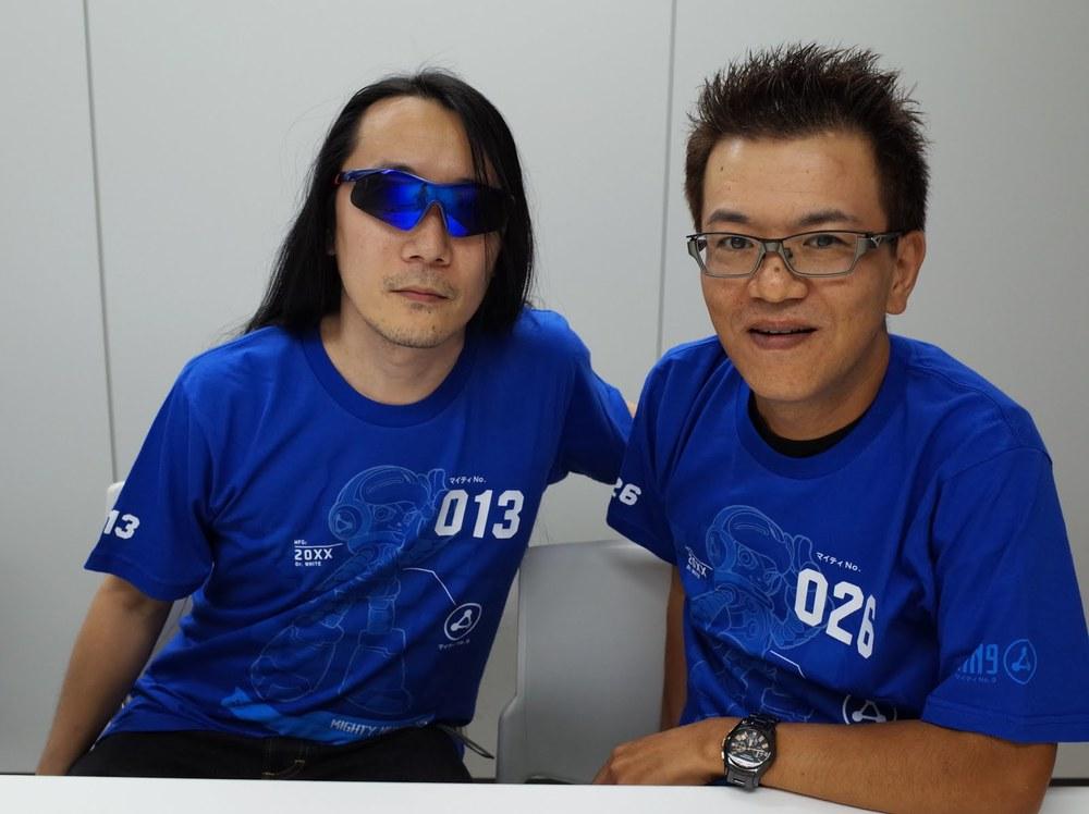 Left: Ippo Yamada, Right: Takashi Tateishi