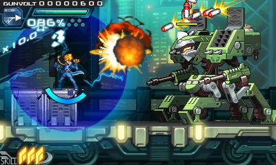 Azure Striker Gunvolt: The Mega Man Network Review