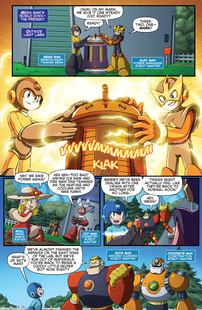 Preview Pages For Sonic Universe 76 Worlds Unite Part 1