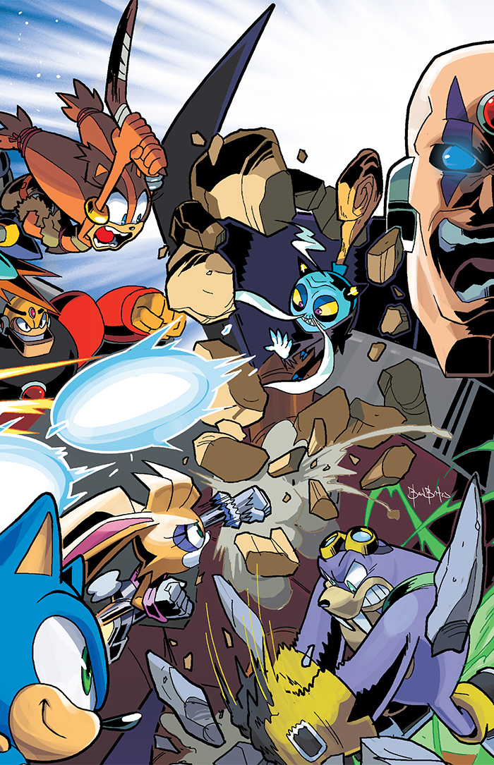 Worlds Unite Weekly Reviews Part 2 Sonic Boom 8 The Mega Man