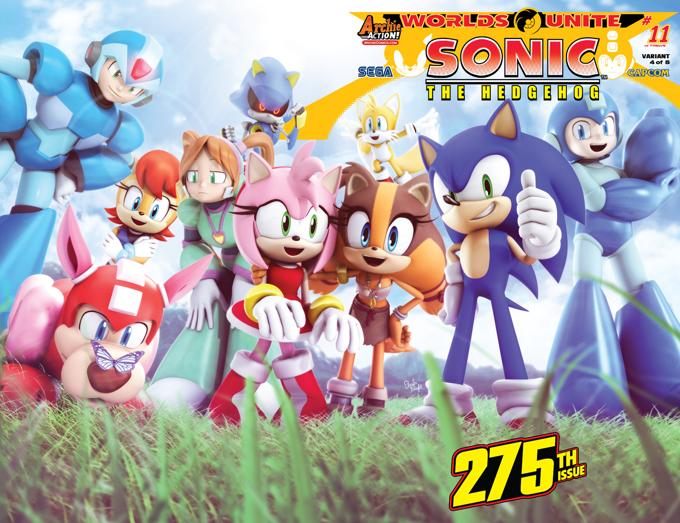 Preview For Sonic The Hedgehog 275 Worlds Unite Part 11 The Mega Man Network