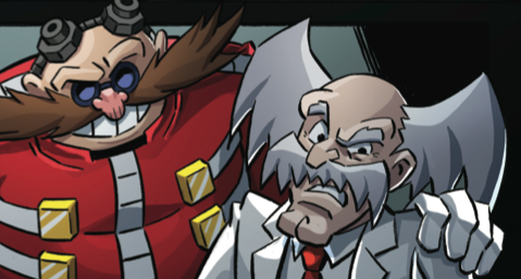 Dr. Wily never trusts a man who wears gloves  all  of the time.