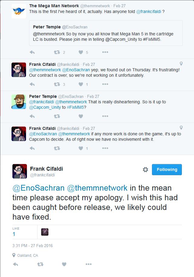 A Frank apology.