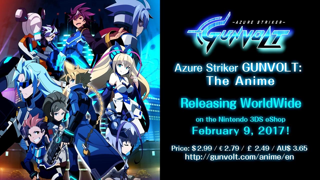 azure striker gunvolt ova mega