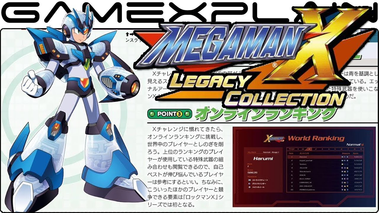 "Read ""GameXplain Dishes New Famitsu Dirt on Mega Man X Legacy Collection's X Challenge Mode"" on The Mega Man Network"