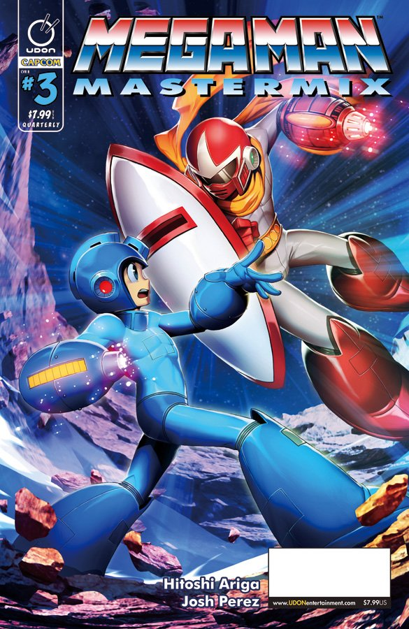 "Read ""Updated Release Info for Mega Man Mastermix #3"" on The Mega Man Network"