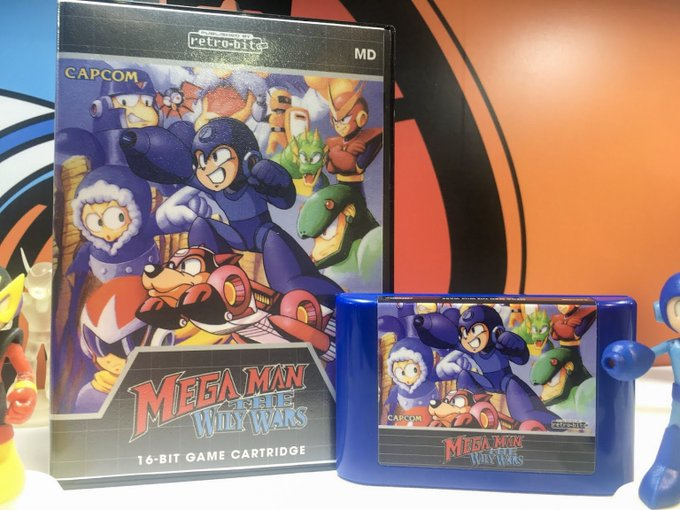 "Read ""Retro-Bit Announces First Ever Official Mega Man: The Wily Wars Cartridges in North America"" on The Mega Man Network"