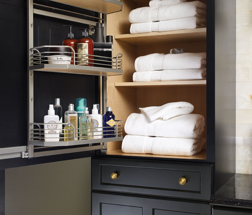 Storage Ideas For Bathroom Vanities