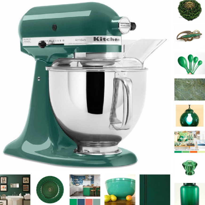 Charmant To Help You Make This The Year Of Emerald Green, Weu0027ve Selected Some  Fabulous Kitchen And Home Items Shown Below, Including Some Products  Available Through ...