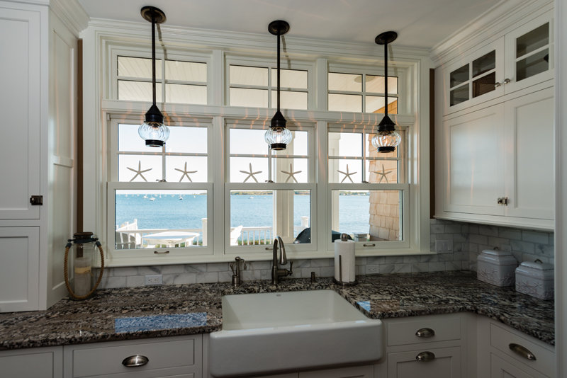 apron front sink pendant lights