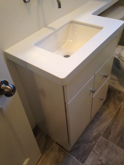 Bayberry Bath Remodel Vanity