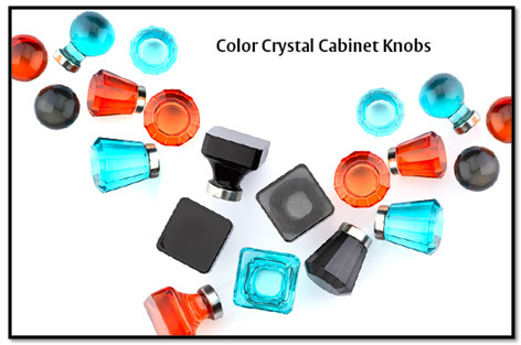 color crystal knobs