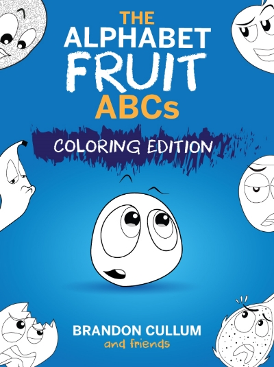 Alphabet Fruit-coloring