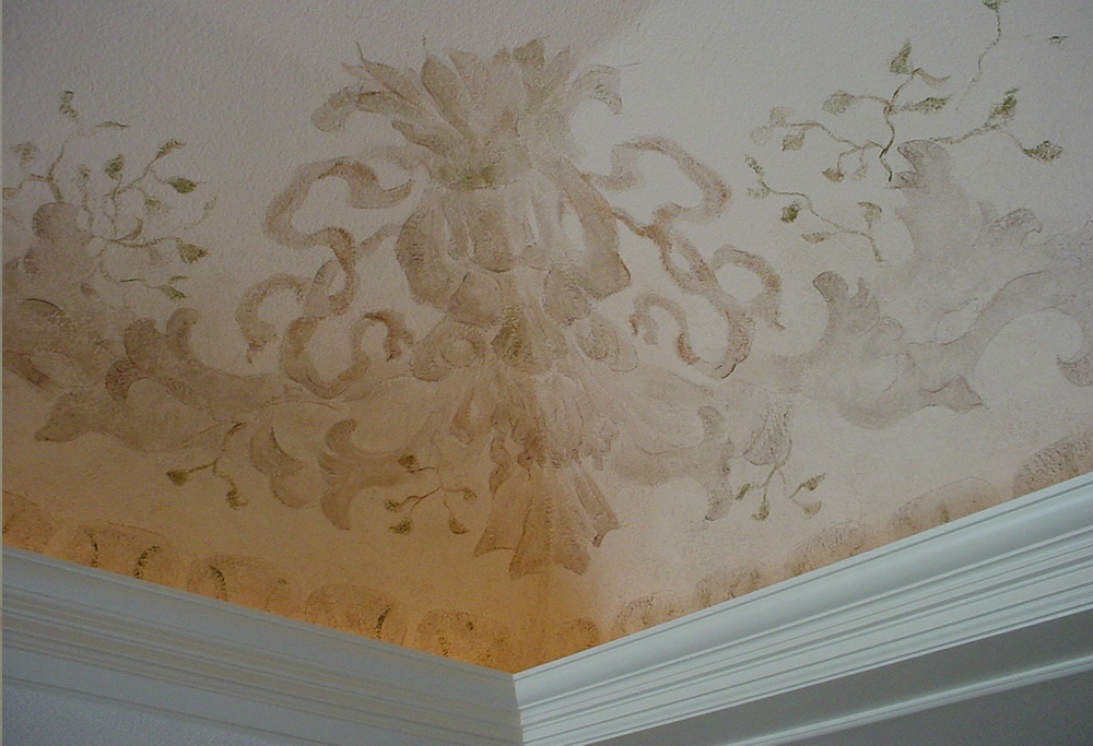 Custom designed pattern for ceiling
