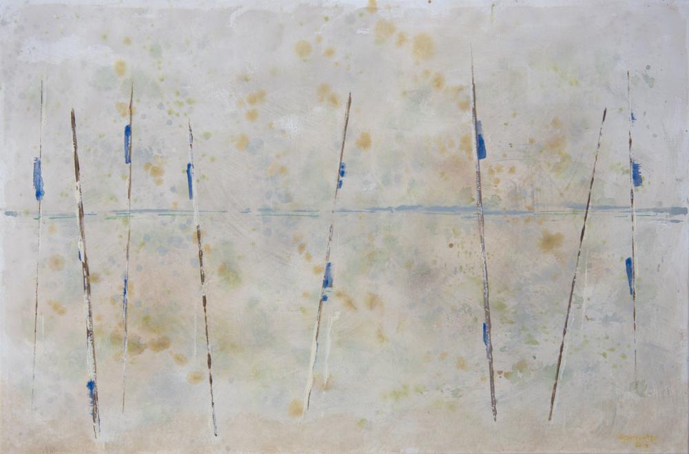 """Balance - acrylic on canvas (24""""x30"""")"""