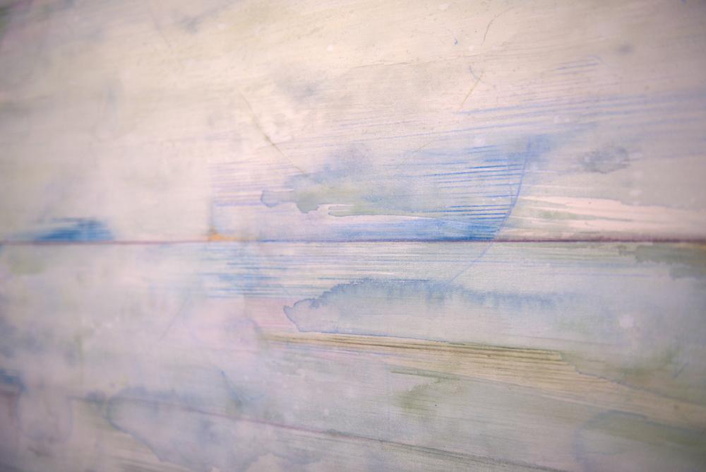 "Sound - mixed medium on canvas (36""x48"")"