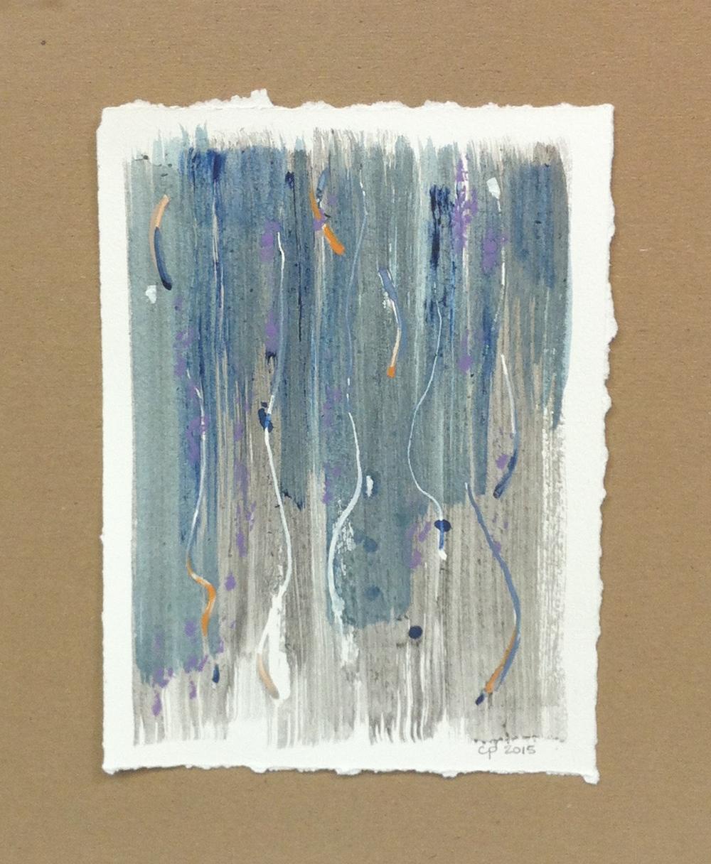 Gift - mixed medium on paper