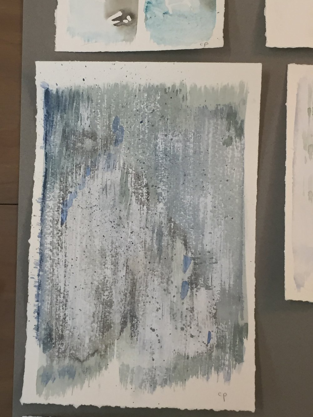 mixed medium on paper