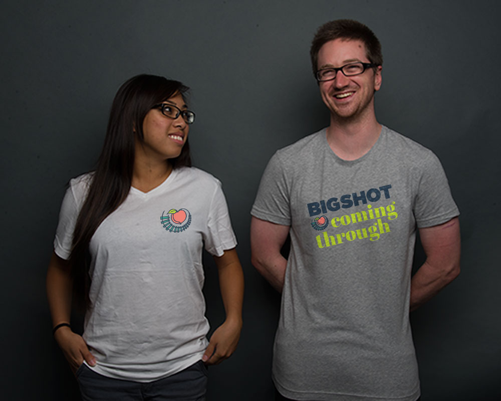 Walk like a BigShot in our exclusive t-shirts.