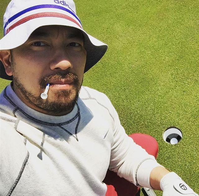 2nd hole - First #par for the #golfseason...#doublebogey the 1st hole. #golf #golfing #golfcourse #golfer