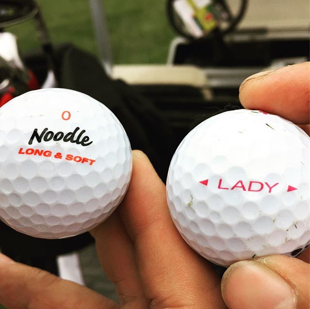 Check out the #golfballs @310j_slims and I used today.