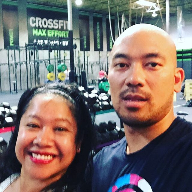 #crossfit in #vegas while on vacation With the #wifey #couplegoals