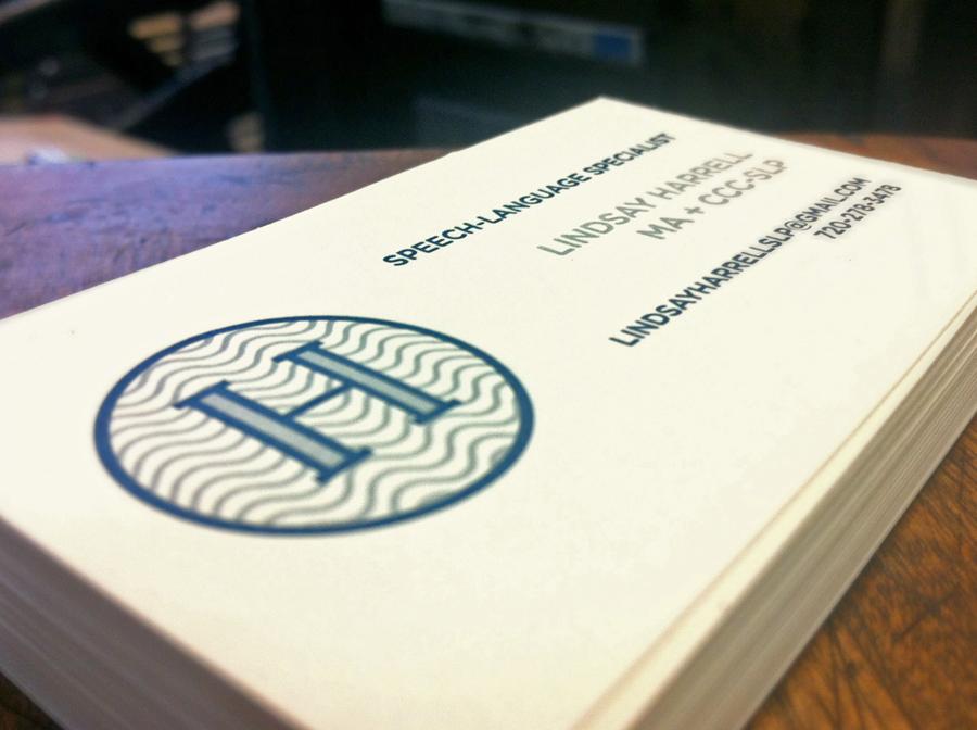 Harrell Business Card — Shepherd Letterpress