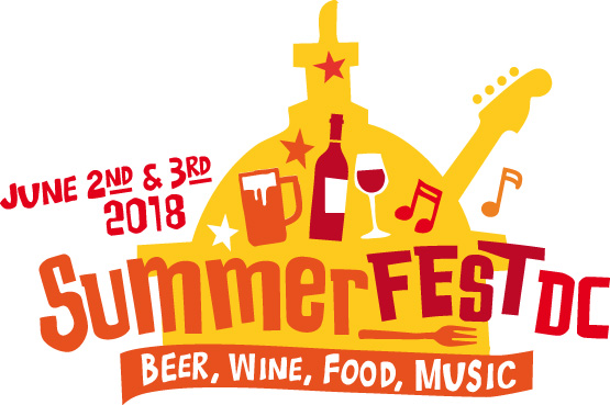 Summerfest DC • Craft Beer + Wine + Music Festival • Washington, DC • June 2nd & 3rd, 2018