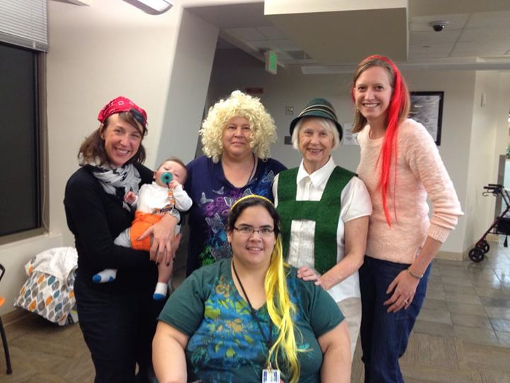 Crazy Halloween fun with the folks at Hirschfeld!