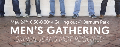 Advent Men Men's Gathering Grilling Out Barnum Park