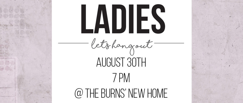 Come for milkshakes, fellowship, and to pray for the Burns' new home and ministry in our neighborhood! Ice cream is provided; bring your favorite mix-in. For the address or other info, email office@adventdenver.com.