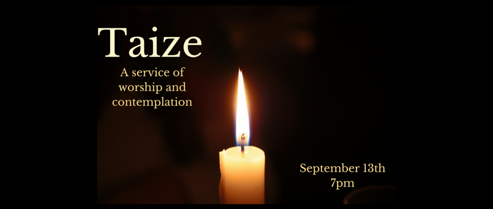 Come join us for a contemplative worship service!