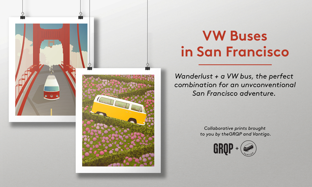 VW Buses in San Francisco