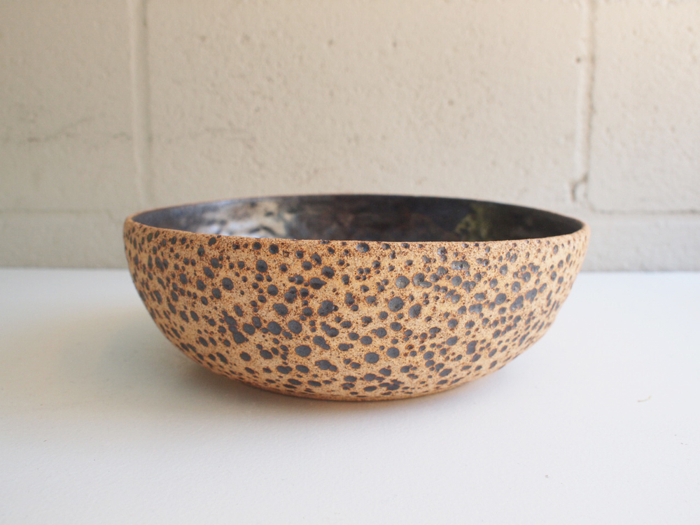 "#124 Meteor bowl 3.25"" h x 10"" d $115"