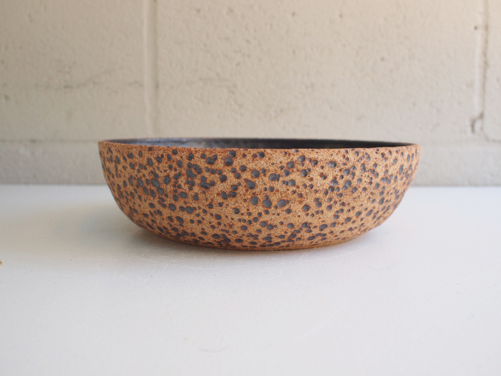 "#123 Meteor bowl 2.5"" h x 9.25"" d $100"