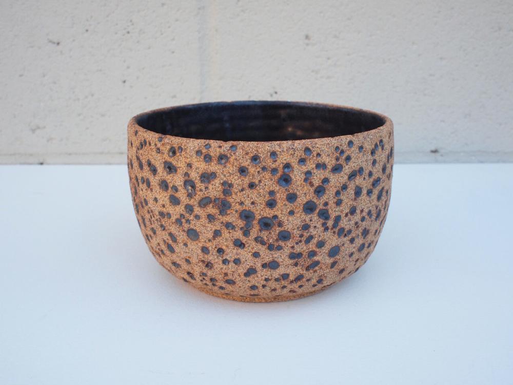 "#150 Natural meteor pot 4"" h x 6"" d $60"