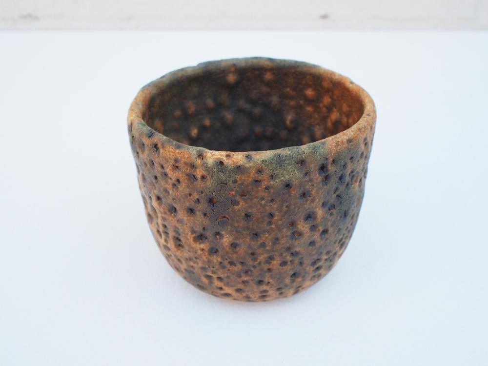 "#156 Moss meteor cup 3"" h x 3.5"" d $35"