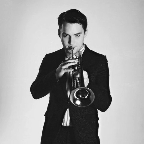 Eamon Mc Nealis on trumpet
