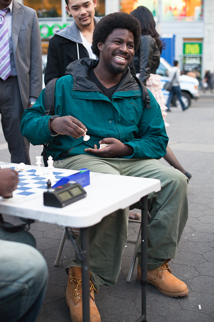 Facing a chessmaster
