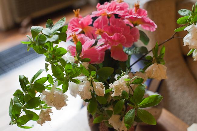 Silk flowers live longer