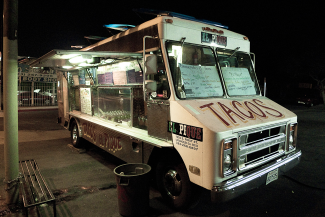 Late nights at the taco truck