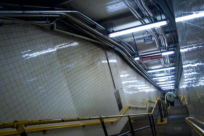 Enter the tubes