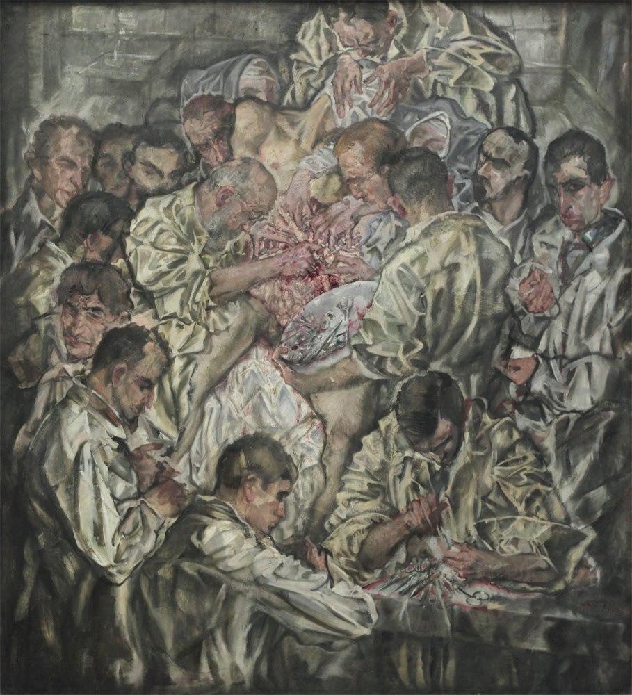 Max Oppenheimer - Operation  (1912)