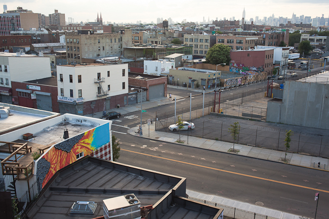 Bushwick, from my rooftop.