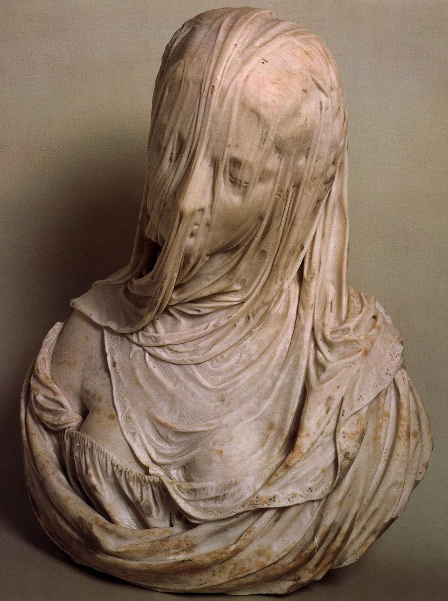 Artwork of the day:    Antonio Corradini  (1717-1725)   Astoundingly good sculpture